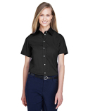 D620SW Devon & Jones Ladies' Crown Collection™ Solid Broadcloth Short-Sleeve Shirt