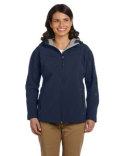 D998W Devon & Jones Ladies' Soft ShellHooded Jacket
