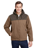 DD5058 Dri Duck Men's 12 oz. 100% Cotton Canvas Hooded Terrain Jacket