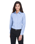 DG520W Devon & Jones Ladies' Crown Woven Collection™ Glen Plaid