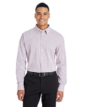 DG540 Devon & Jones CrownLux Performance™ Men's Micro Windowpane Shirt