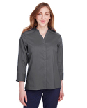 DG560W Devon & Jones Ladies' Crown  Collection™ Stretch Broadcloth 3/4 Sleeve Blouse