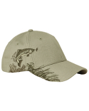 DI3256 Dri Duck Brushed Cotton Twill Trout Cap
