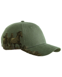 DI3264 Dri Duck Brushed Cotton Twill Mustang Cap