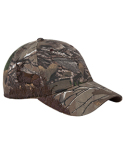 DI3282 Dri Duck Deer Mule Camo Structured Mid-Profile Hat