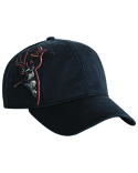 DI3320 Dri Duck 3D Applique Buck Cap