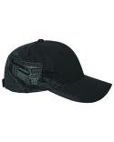DI3331 Dri Duck Brushed Cotton Twill Rail Yard Cap