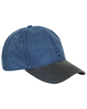DI3333 Dri Duck Washed Cotton Chino Vintage Cap