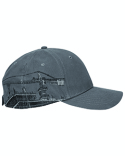 DI3346 Dri Duck Brushed Cotton Twill Tower Crane Cap