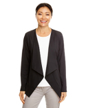 DP465W Devon & Jones Perfect Fit™ Draped Open Blazer