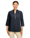 DP611W Devon & Jones Perfect Fit™ Three-Quarter Sleeve Crepe Tunic