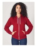 F497 American Apparel Unisex Flex Fleece USA Made Zip Hoodie