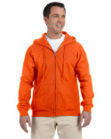 G126 Gildan Adult DryBlend®  9.0 oz., 50/50 Full-Zip Hood