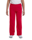 G184B Gildan Youth Heavy Blend™ 8 oz., 50/50 Open-Bottom Sweatpants