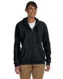 G186FL Gildan Ladies' Heavy Blend™ Ladies' 8 oz., 50/50 Full-Zip Hooded Sweatshirt