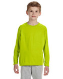 G424B Gildan Youth Performance® 5 oz. Long-Sleeve T-Shirt