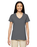 G500VL Gildan Ladies'   Heavy Cotton™ 5.3 oz. V-Neck T-Shirt