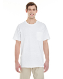 G530 Gildan Adult 5.3 oz. Pocket T-Shirt
