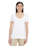 G6455L Gildan Ladies' Softstyle®  4.5 oz. Deep Scoop T-Shirt