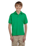 G880B Gildan Youth 50/50 Jersey Polo