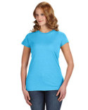 JA8138 J America Ladies' Glitter T-Shirt