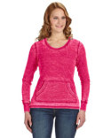 JA8255 J America Ladies' Zen Thermal Long-Sleeve T-Shirt