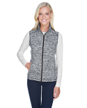 JA8625 J America Ladies' Lasic Cosmic Fleece Vest
