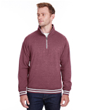 JA8650 J America Adult Relay Quarter-Zip