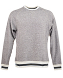 JA8702 J America Adult Peppered Fleece Sweatshirt