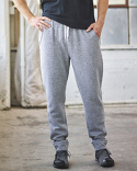 JA8705 J America Adult Peppered Fleece Jogger