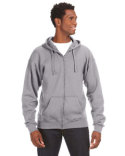 JA8821 J America Adult Premium Full-Zip Fleece Hooded Sweatshirt