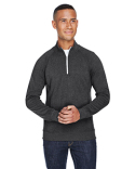 JA8869 J America Adult Triblend Fleece Quarter-Zip