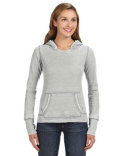JA8912 J America Ladies' Zen Pullover Fleece Hooded Sweatshirt