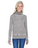JA8930 J America Ladies' Zen Fleece Cowl Neck