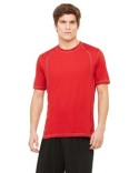M1021 All Sport Men's Short-Sleeve Interlock Pieced T-Shirt