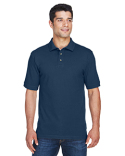 M200T Harriton Men's Tall 6 oz. Ringspun Cotton Piqué Short-Sleeve Polo