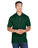 M353 Harriton Men's Double Mesh Polo