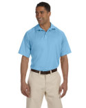 M374 Harriton Men's 3.8 oz. Polytech Mesh Insert Polo