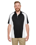 M385 Harriton Men's Advantage Snag Protection Plus IL Colorblock Polo