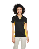 M386W Harriton Ladies' Flash Snag Protection Plus IL Colorblock Polo