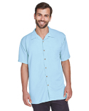 M570 Harriton Men's Bahama Cord Camp Shirt