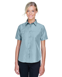 M580W Harriton Ladies' Key West Short-Sleeve Performance Staff Shirt