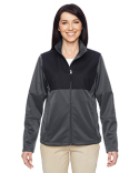 M745W Harriton Ladies' Task Performance Fleece Full-Zip Jacket