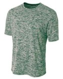 N3296 A4 Men's Space Dye T-Shirt