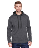 N4103 A4 Men's Tonal Space Dye-Tech Fleece Hoodie