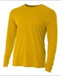 NB3165 A4 Youth Long Sleeve Cooling Performance Crew Shirt