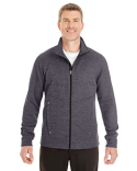 NE704 Ash City - North End Men's Amplify Mélange Fleece Jacket