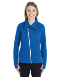 NE704W North End Ladies' Amplify Mélange Fleece Jacket