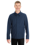 NE705 North End Men's Edge Soft Shell Jacket with Fold-Down Collar