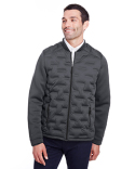 NE710 North End Men's Pioneer Hybrid Bomber Jacket